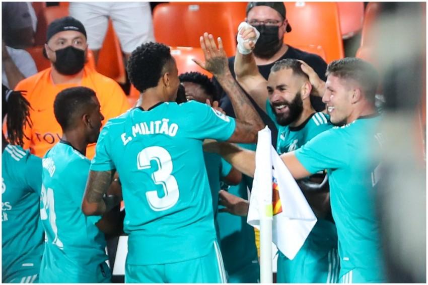 La Liga: Vinicius Junior, Karim Benzema Lead Real Madrid To 2-1 Win At Valencia