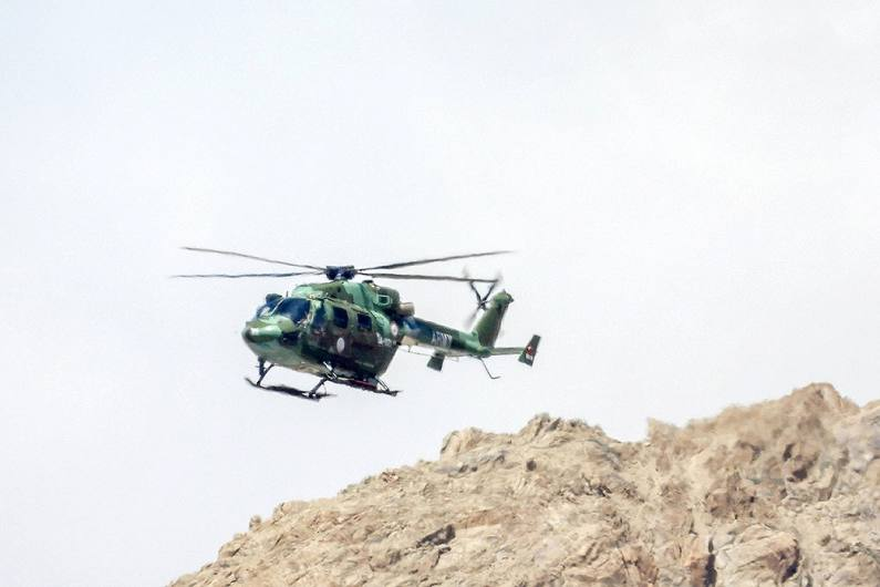 J&K: Two Pilots Killed After Army Chopper Crash Lands In Udhampur District