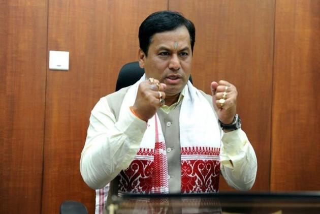 Sarbananda Sonowal Files Nomination For RS Polls