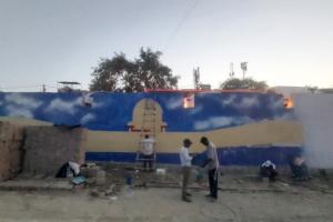 Delhi Govt Faces Flak For Painting Golden Temple On Under Construction Ubderpass