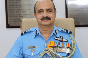 Air Marshal VR Chaudhari Appointed New IAF Chief
