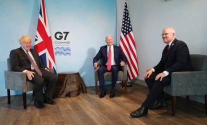 Biden Holds Bilateral Meets With British And Australian Prime Ministers, Discusses Indo-Pacific, Afghanistan