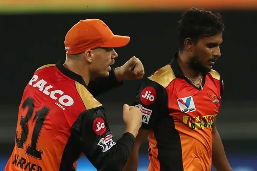 COVID-19 Scare In IPL 2021: Sunrisers Hyderabad Pacer Thangarasu Natarajan Tests Positive For Coronavirus