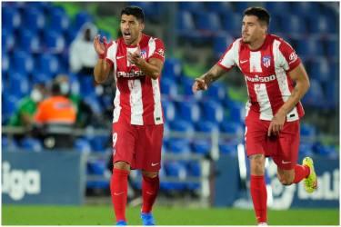La Liga: Late Luis Suarez Double Gives Atletico Madrid 2-1 Win At Getafe