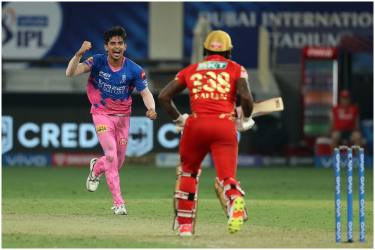 IPL 2021: RR's Riyan Parag Hails Kartik Tyagi's Final Over As 'Number One'