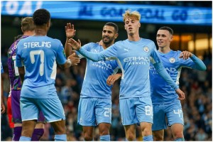 League Cup: Manchester City Thrash Wycombe Wanderers 6-1; Liverpool Triumph
