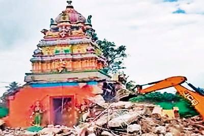 Mysore Temple Demolition Puts Karnataka BJP Government In A Fix