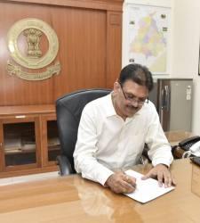 Anirudh Tewari Takes Over As Punjab's Chief Secretary