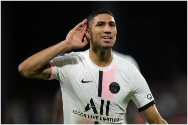Ligue 1: PSG Make It Seven Straight Wins As Achraf Hakimi Nets Late Winner