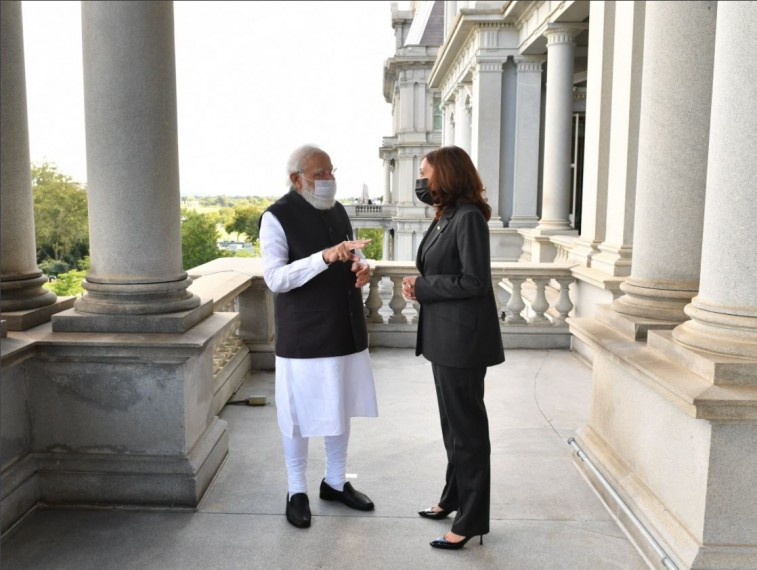 You Are A Source Of Inspiration For So Many People All Around The World: PM Modi To US VP Kamala Harris