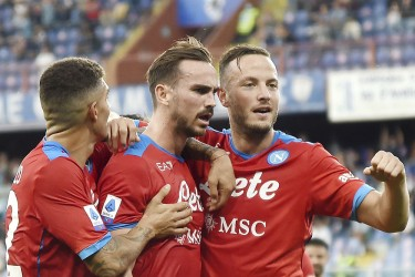 Serie A: Napoli Extend Perfect Start With 4-0 Win Over Sampdoria