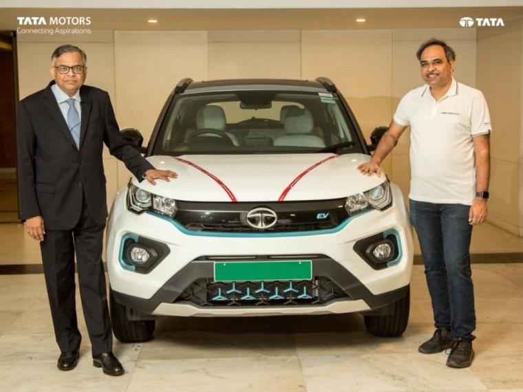 Tata Records 10,000 EV Vehicle Sales