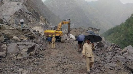 Widespread Rains And Snow Trigger Landslides, Accidents In Himachal