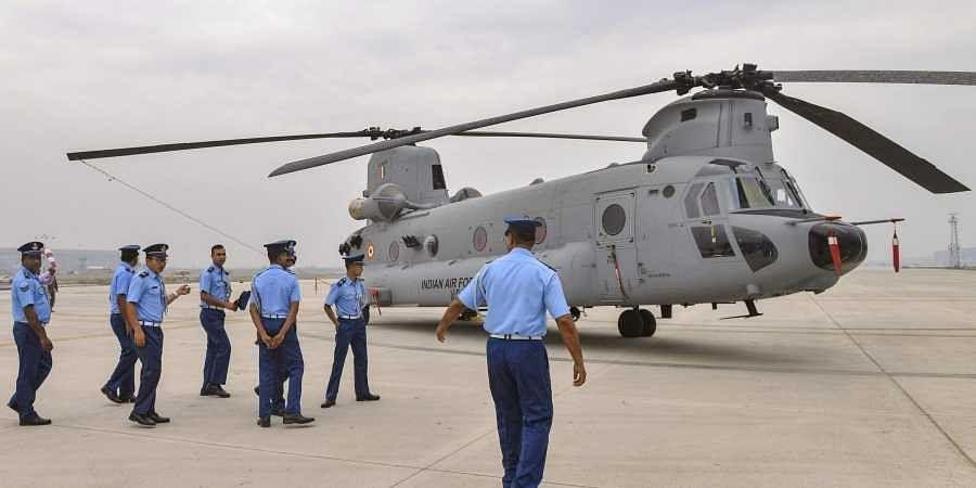 Ahead Of IAF's Air Show, Fighter Aircrafts, Chinooks Roar Over Srinagar