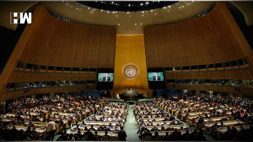 India Calls Pakistan 'Arsonist, Disguising Itself As Fire-Fighter' At UNGA