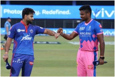 IPL 2021, DC Vs RR, Live Cricket Scores: Rajasthan Royals Opt To Bowl