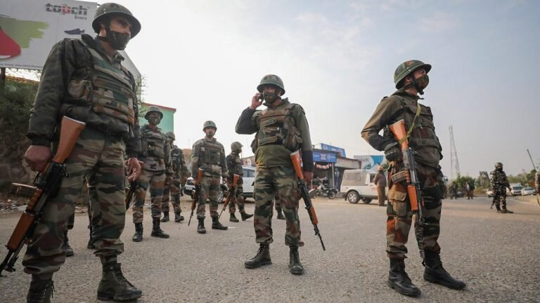 Two Militants Killed In Encounter With Security Forces In J&K's Bandipora