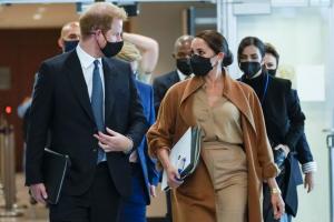 Meghan Markle, Harry Meet Meet Top US Officials Amid World Leaders' Meet
