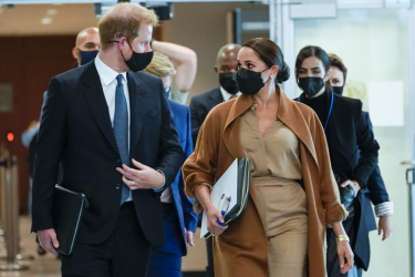 Meghan Markle, Harry Meet Top US Officials Amid World Leaders' Meeting