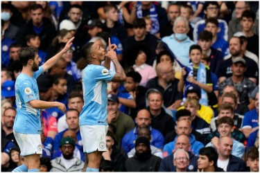 EPL: Manchester City Reasserts Title Credentials As Gabriel Jesus Nets Winner Vs Chelsea