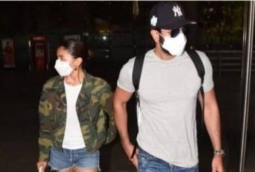 Ranbir Kapoor And Alia Bhatt Head Out To Jodhpur Ahead Of His 39th Birthday