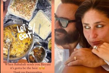 Kareena Kapoor Khan Thanks 'Baahubali' aKa Prabhas For 'The Best Biryani'