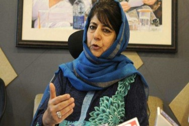 Send Fact-Finding Team To Kashmir To See What Journalists Going Through: Mehbooba Mufti To PCI