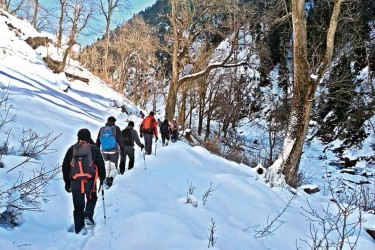 Two Trekkers Die, 14 Stranded At Glacier In Lahaul-Spiti