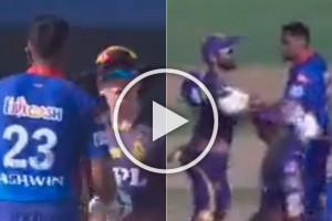 KKR Vs DC, IPL 2021: Dinesh Karthik Stops Ravi Ashwin's On-field Altercation With Eoin Morgan – WATCH