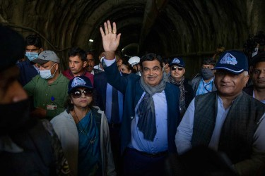 Zojila Tunnel Work Is Challenging But Govt Has Strong Will To Complete It In Time: Gadkari