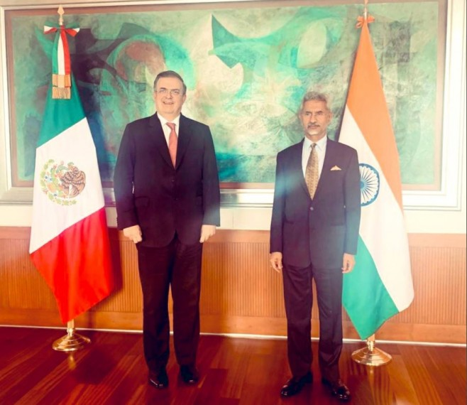 EAM S Jaishankar Meets Mexican President, Focus Is On Trade And Investment