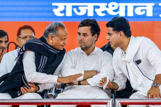Unlike Punjab, Why Congress High Command May Not Replace CM In Rajasthan