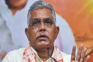 West Bengal Police Registers FIR Over Alleged Assault On BJP's Dilip Ghosh