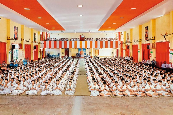 Saffronisation Of Education? RSS Says Its Schools Imbibe Indian Values In Students