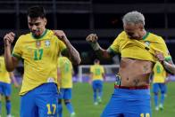 Depleted Brazil Dace Revamped Argentina In FIFA World Cup Qualifying