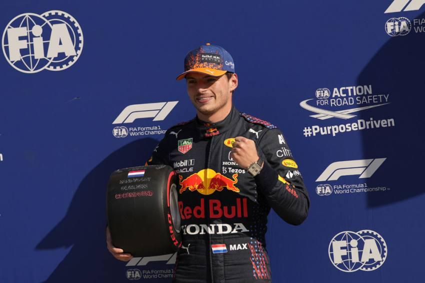 Dutch Grand Prix: Max Verstappen Takes Pole Ahead Of Lewis Hamilton