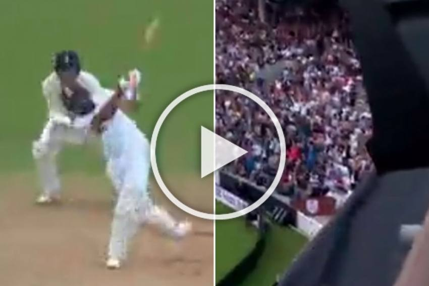 ENG Vs IND, 4th Test: Rohit Sharma Hits Massive Six To Bring Up His Maiden Overseas Century - WATCH