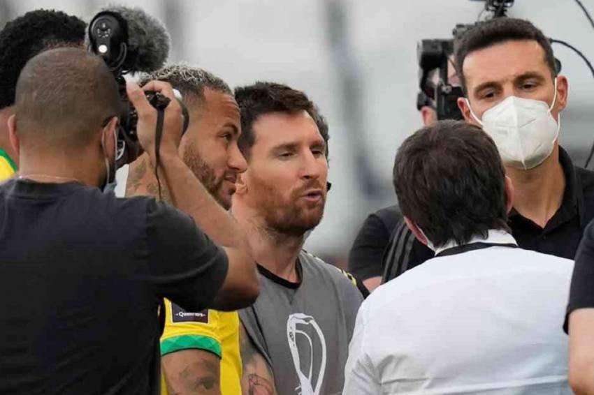 Brazil-Argentina FIFA World Cup Qualifier Suspended In Coronavirus Dispute
