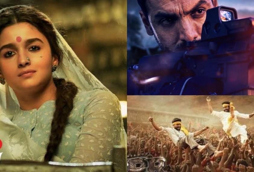 Alia Bhatt Starrer 'Gangubai Kathiwadi' And 'RRR' To Release In Theatres Only