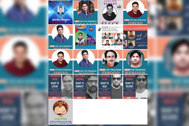 Kashmir Press Club Polls: For Dignity Of 'Unbuttoned Shirts' And Space to Exchange Ideas