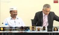 Arvind Kejriwal: Google Hangout