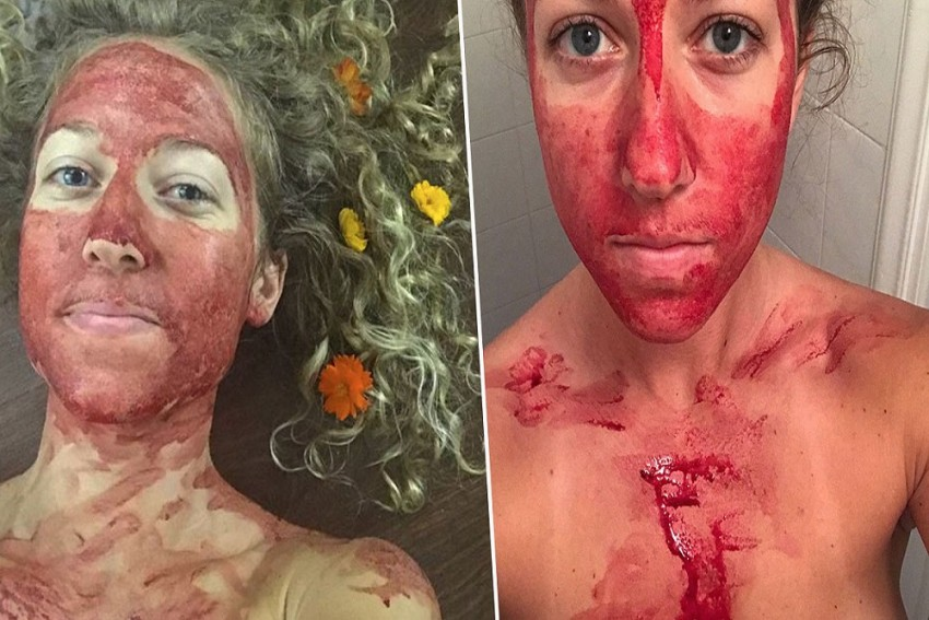 Painting Faces With Menstrual Blood Is No Women Empowerment