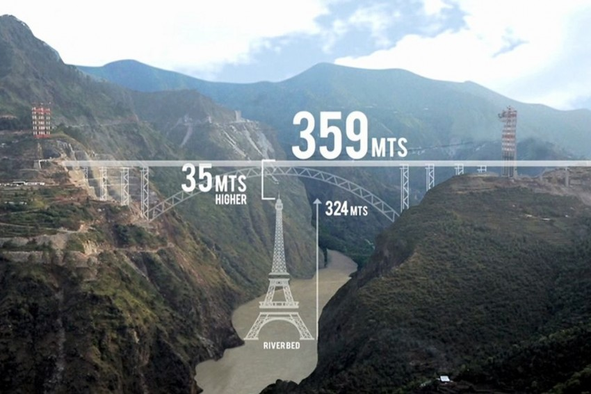Planning A Train Ride On World's Tallest Bridge? You Have To Wait Longer