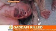 The End Of Muammar Gaddafi