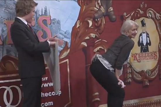 Twerking With Helen Mirren