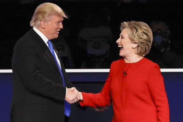 Clinton Lets Voters Compare Her Past With Trump's Through A Nifty Website Tool