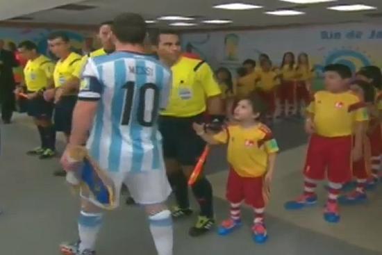 How 'Heartbreaker' Lionel Messi Won A Child's Heart