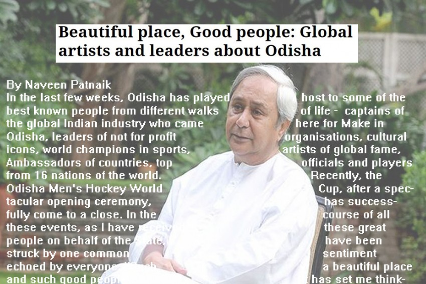 Odisha Chief Minister Naveen Patnaik And Forgiveness? No