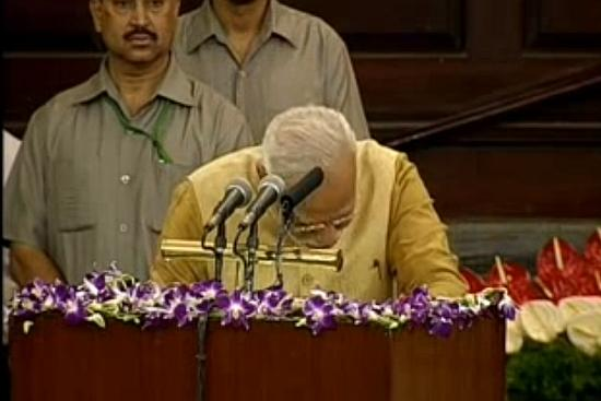 When Narendra Modi Broke Down