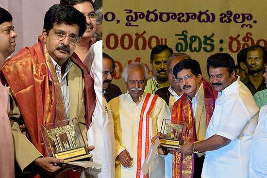 P. Anil Kumar, Renowned Photojournalist and Outlook Contributor, Awarded by Telangana Govt